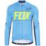 Fox Ascent jersey lange mouwen Heren blauw
